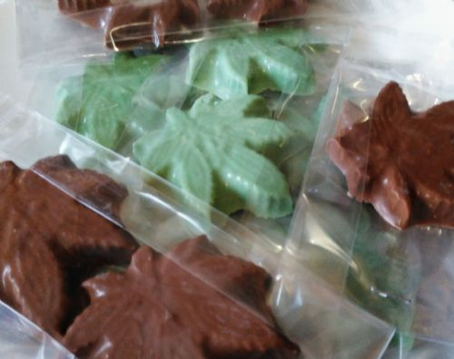 Chocolate Cannabis Shapes